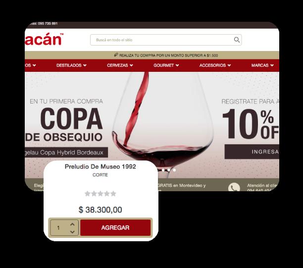 eCommerce - Bacán