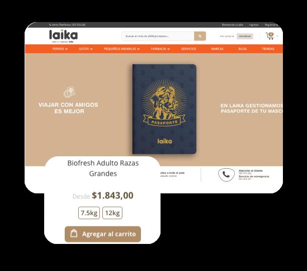 eCommerce - Laika Tienda Online